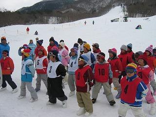 スキー参観日